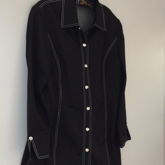 St. John Sport by Marie Gray Jackets & Blazers - Black coat, St. John, L